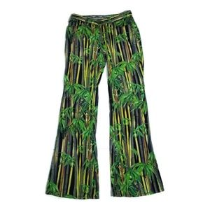 D&G bamboo flare pants